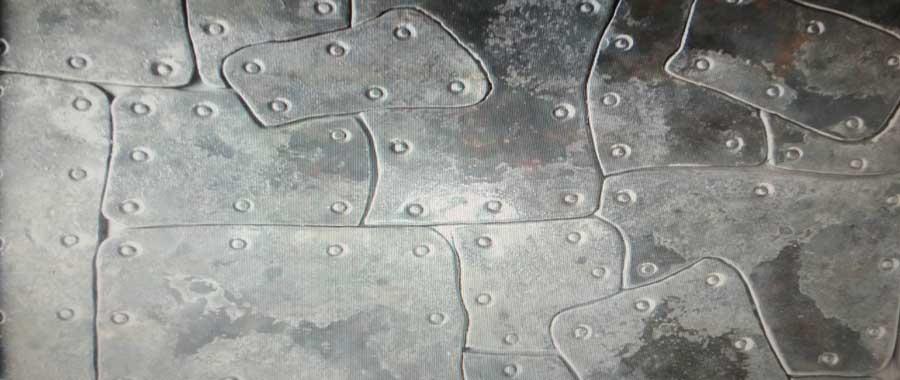 Металлическая декоративная плитка